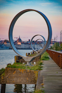 """Les Anneaux """"The Rings"""" at sunset 