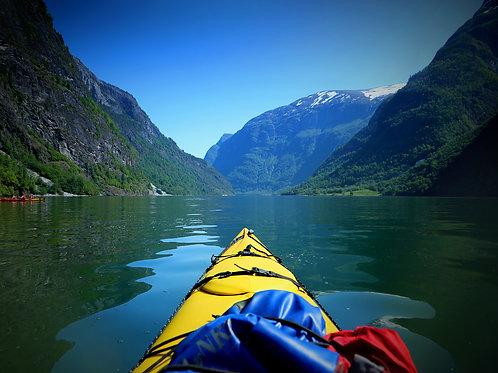 Kayaking the Nærøyfjord