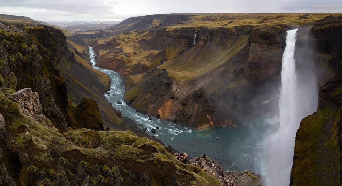 Haifoss Panorama | Iceland