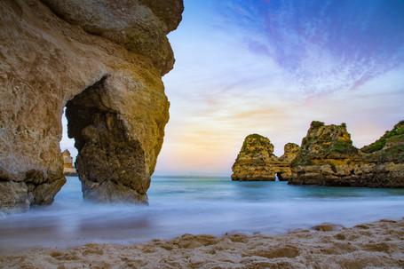 Praia do Camilo Arch