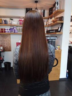 החלקת שיער מושלמת רפאל אוסמו