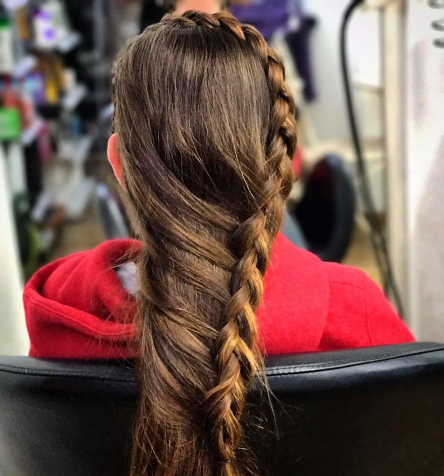תסרוקות שיער לאירוע - ילדים