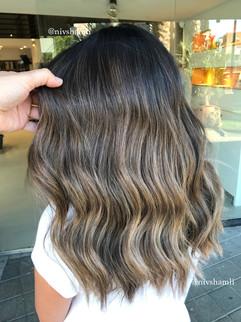 בלאיז' צבעי שיער
