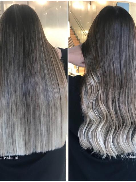 צבעי שיער בלונד