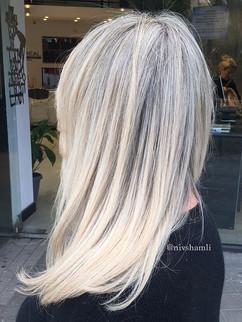 הבלונד של שמלי - עיצוב שיער