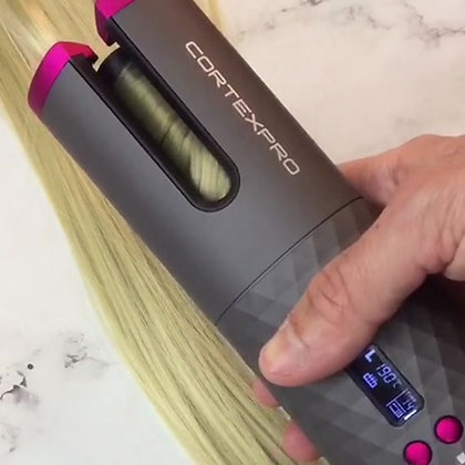 מסלסל שיער אלחוטי