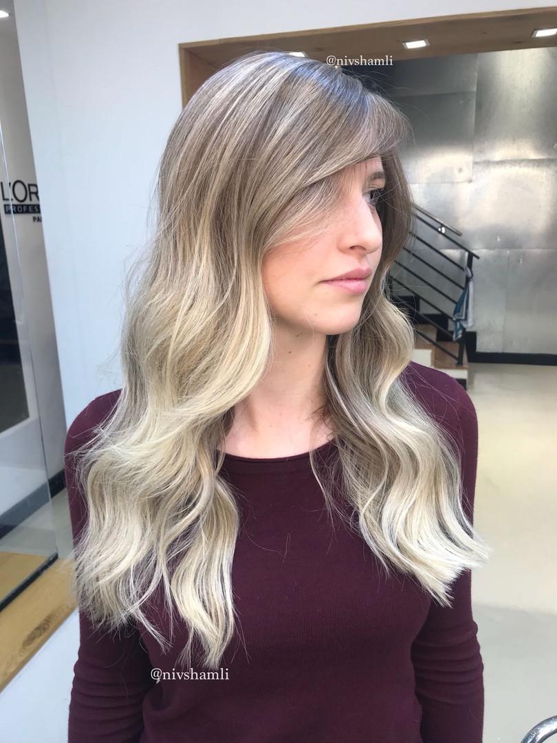 שיער בלונדיני