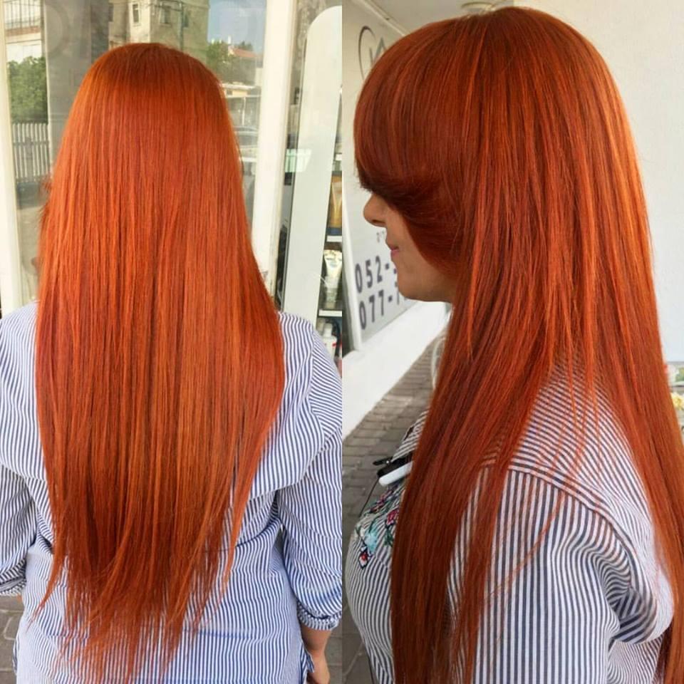 צבעי שיער איכותיים במספרת רפאל אוסמו