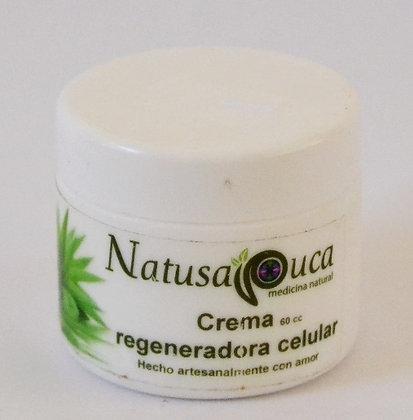 Crema Regeneradora Celular 60cc Natusapuca