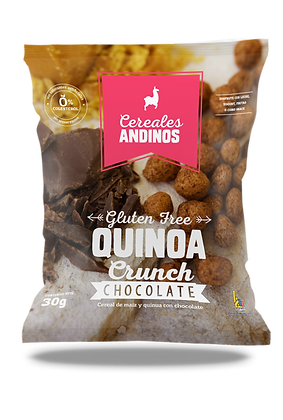 Cereal Quinoa Crunch - Chocolate 30gr
