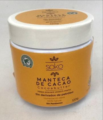 Manteca de Cacao 120g Soko