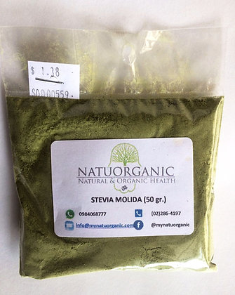 Stevia Molida 50gr.