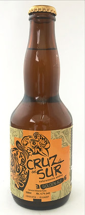 Cerveza Artesanal Cruz del Sur Golden 330ml