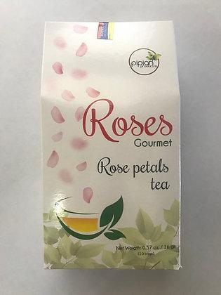 Te, Petalos de Rosas 16gr. (10 fundas) Pipian