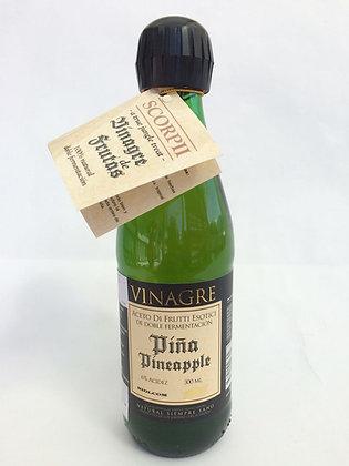 Vinagre de Piña Doble Fermentación 300ml Scorpii