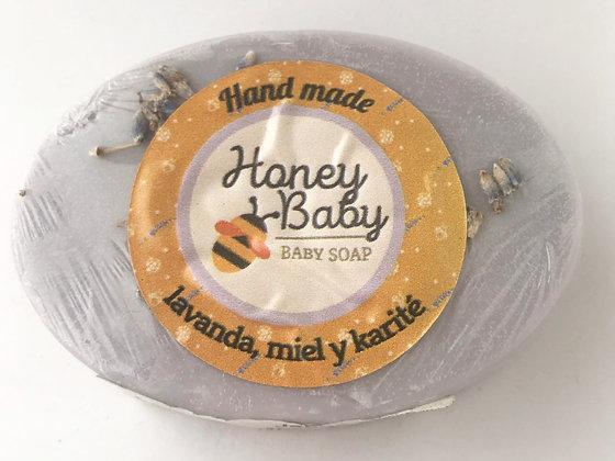 Shampoo Miel Lavanda & Romero 250ml. Honey Baby