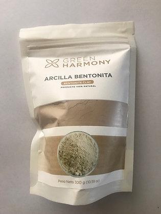 Arcilla Bentonita 300gr. Green Harmony