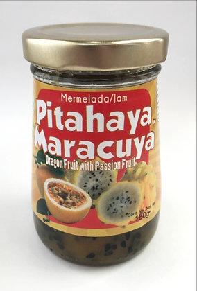 Mermelada de Maracuya y Pithaya 180gr. Pitavit