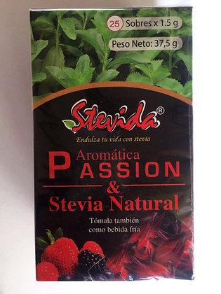 Te Passion frutos rojos con stevia 25 sobres