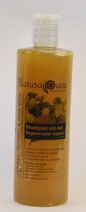 Shampoo sin sal Regenerado Capilar 500ml Natusapuca
