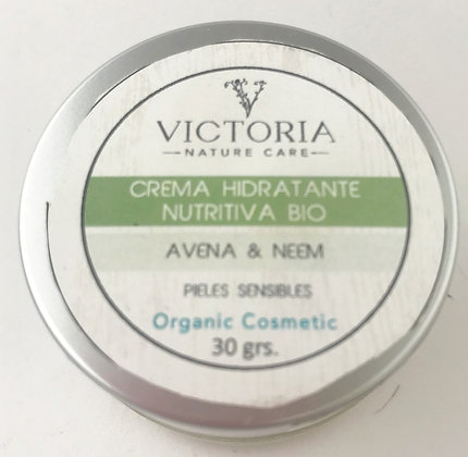 Crema Hidratante Nutritiva 30gr. Victoria