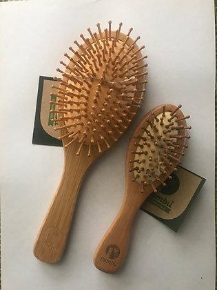 Cepillo de Bambu para Cabello