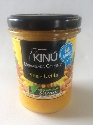 Mermelada Piña-Uvilla KINU