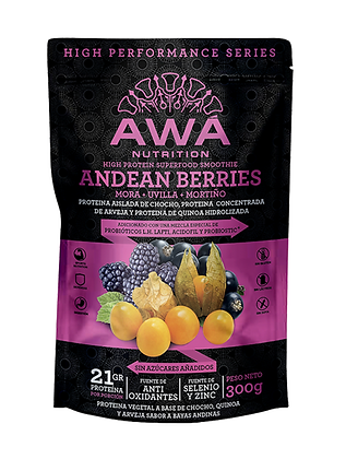 Andean Berries High Performance 300gr Awa Nutrition