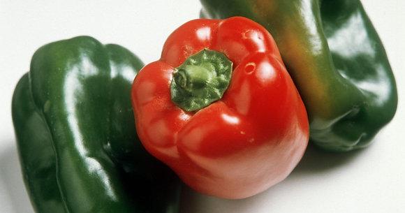Mix Pimientos Verde/Rojo 250gr