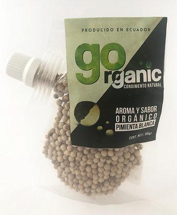 Pimienta Blanca Orgànica 50gr. Organic Crops