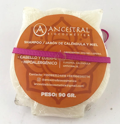 Shampoo Niños Barra Ancestral Biocosméta