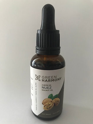 Aceite de Nuez 30ml Green Harmony