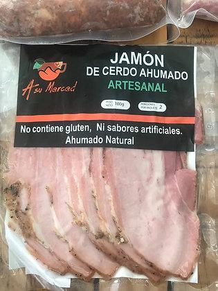 Jamón Cerdo Ahumado 100gr A su Merced