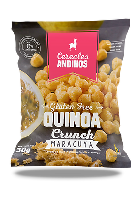 Cereal Quinoa Crunch - Maracuya 30gr.