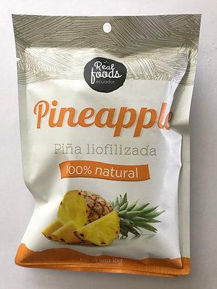 Piña Liofilizada 15gr. Real Foods