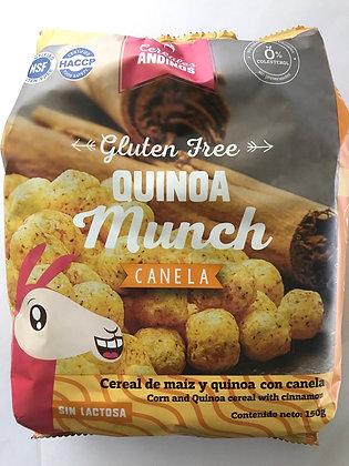 Cereal Quinoa Canela 150gr.