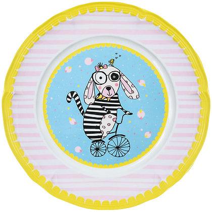 Round Plate • Vivienne