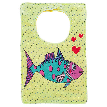 Babies Bib • Mrs Fish