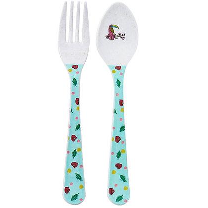 Fork & Spoon • Toucan Sisters