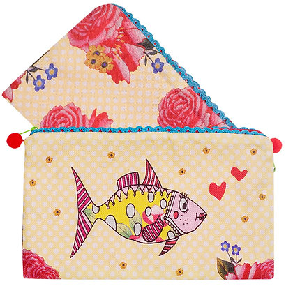Pencil Case •  Mrs Fish