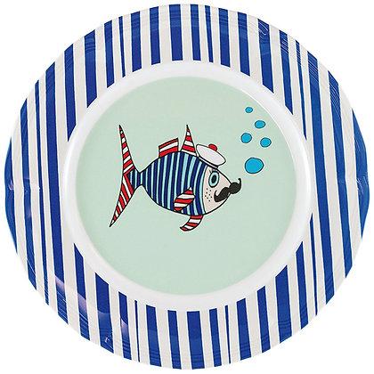 Round Plate • Mr Fish