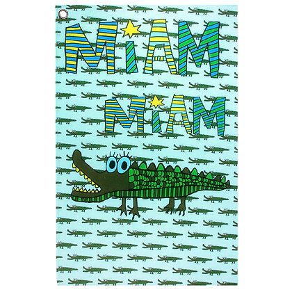 Tea Towel • Croco