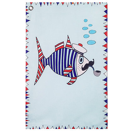 Tea Towel • Mr Fish