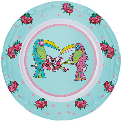 Round Plate • Toucan Sisters