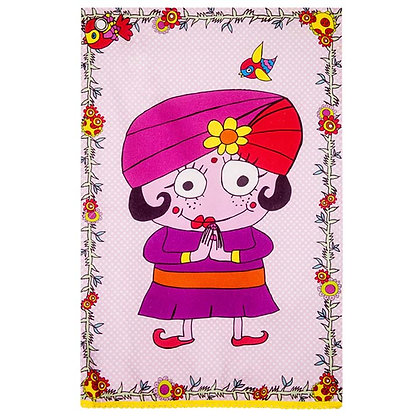 Tea Towel • Madame Maharadja