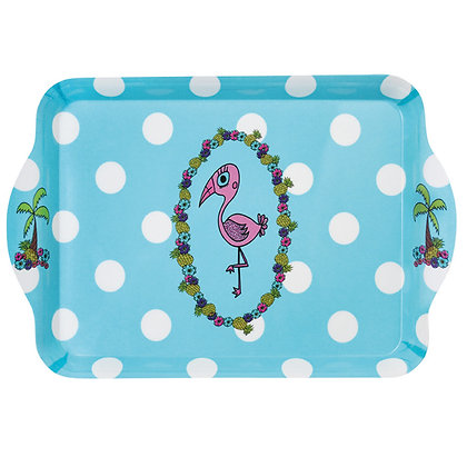 Scatter Tray • Pink Flamingo