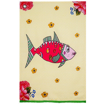 Tea Towel • Mrs Fish