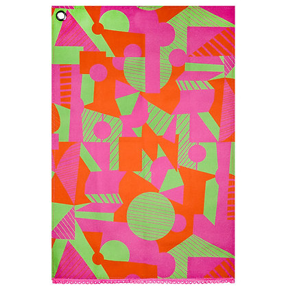 Tea Towel • Neon