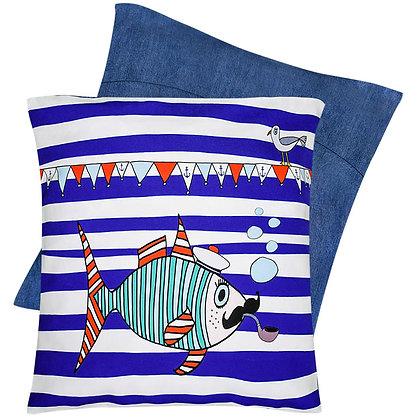 Cushion Cover • Mr Fish