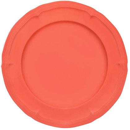 Round Plate • Neon Orange